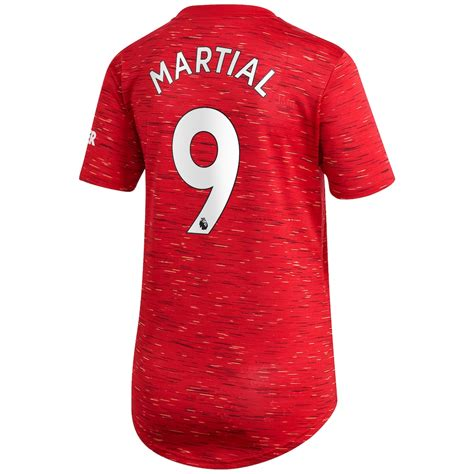 Women's Adidas Anthony Martial Red Manchester United 2020 ...
