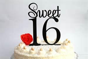 gold letter cake topper sweet 16 cake topper 16th birthday cake topper sweet