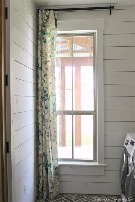 simple farmhouse window trim domestic imperfection