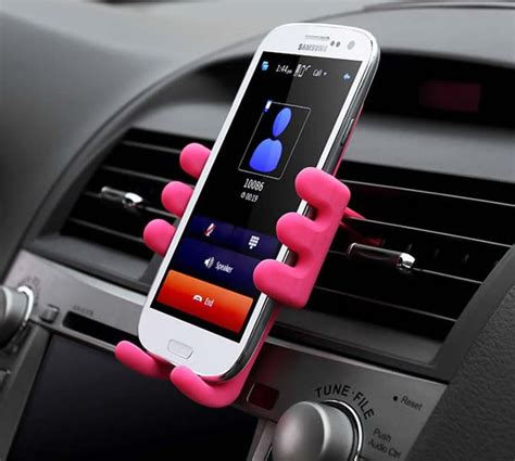 silicone doll cell phone smartphones air vent car mount