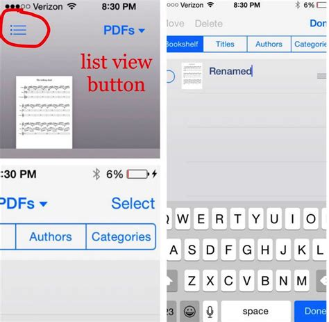 how to open a pdf on iphone how to rename pdf file in ibooks on iphone 187 macdrug