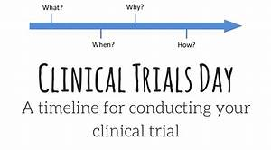 a timeline for conducting your clinical trial on medicine With how to get a job in clinical research