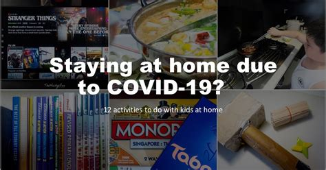 12 Things you can do at home with kids if you want to