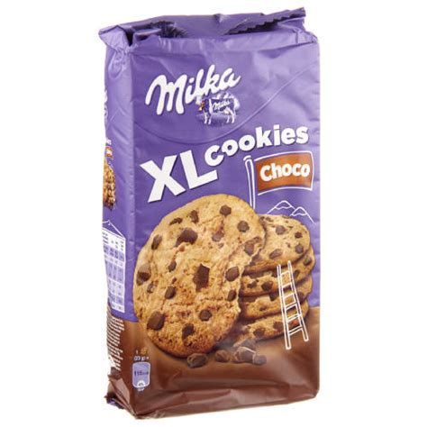 MILKA XL cookies choco - 184 gr.