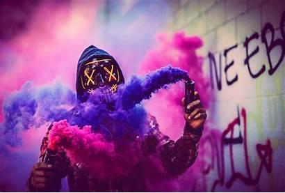 Smoke Bomb Dope Pink Bombs Purge Mask