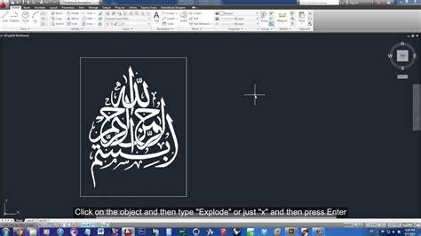 transform  image  lines  autocad