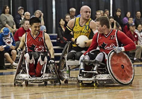 huit joueurs de rugby en fauteuil roulant ontariens se rapprochent de leur r 234 ve d 234 tre