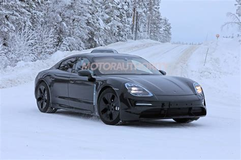 2020 Porsche Taycan by Teasers Suggest Porsche Taycan Will Look Like Mission E
