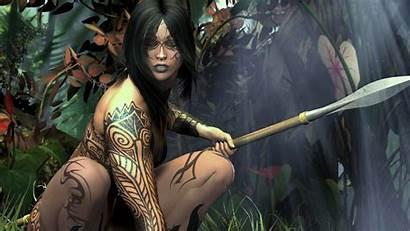 Warrior Woman Artwork Wallpapers Wallpapers13 Resolution