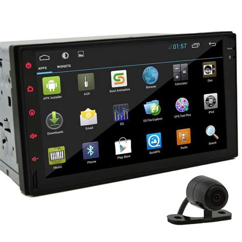 7'' Hd In Dash Car Radio Tablet Android 42 Double 2din