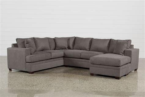 Kerri 2 Piece Sectional Wraf Chaise  Living Spaces