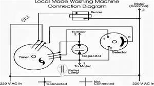 Simple Washing Machine Wiring Diagram