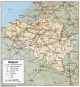 Carte Monde Liege : carte de la belgique afbeelding ~ Teatrodelosmanantiales.com Idées de Décoration