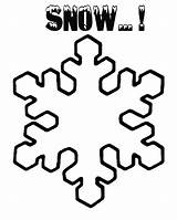 Winter Snow Coloring Activities Printable Snowflake Drawing Frozen Clipart Craft Flake Easy Falling Colouring Crystal Symmetry Lines Same Never Many sketch template