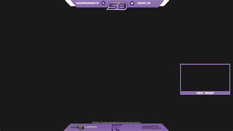 twitch layout twitch overlays on behance