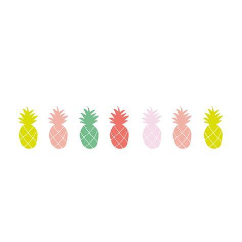 rideau pour chambre de fille sticker frise ananas mimilou pour chambre enfant les