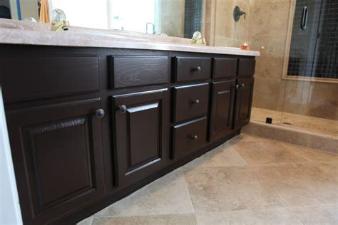 painting kitchen cabinets espresso bathroom cabinets painted with rustoleum cabinet 4032