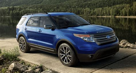 2015 Ford Explorer With New Colors, Features And Xlt