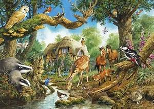 Woodland creatures and horses? This is our fantasy house ...