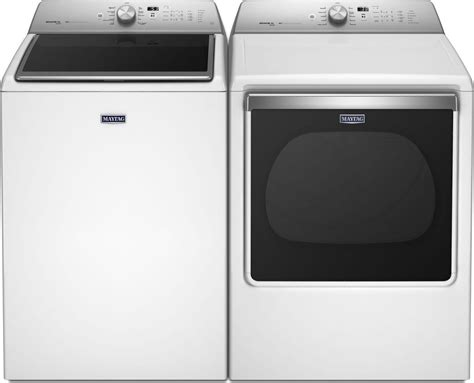 Maytag Mvwb855dw Top Load Washer & Mgdb855dw Gas Dryer