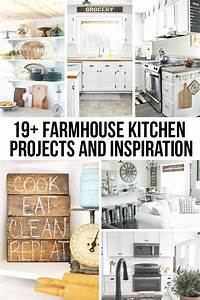 Farmhouse Kitchen Projects and Inspiration -- prepare to