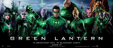 the blot says green lantern corps posters