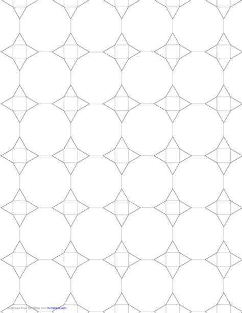 small tessellation graph paper