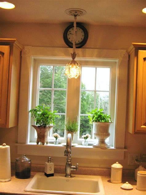 pendant lighting above kitchen sink kitchen kitchen sink lighting using single or 7400