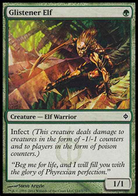 magic the gathering mono green infect budget modern