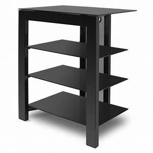 Meuble Tv Etagere : de conti arca noir meuble tv de conti sur ~ Teatrodelosmanantiales.com Idées de Décoration