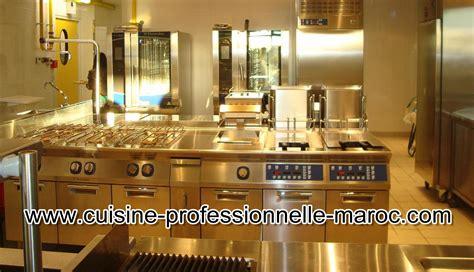 equipement cuisine maroc matériel de restauration et cuisine professionnelle au