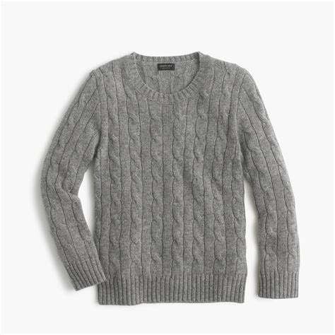 how to sweater 39 cable crewneck sweater boys 39 sweaters j