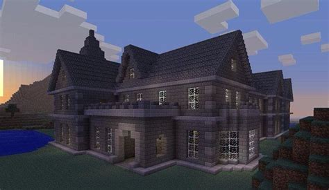stone mansion minecraft houses minecraft houses blueprints