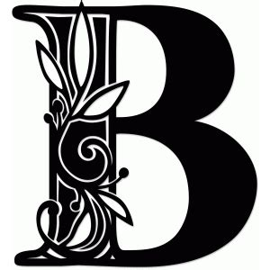 silhouette design store view design  vine monogram
