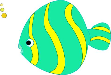 colorful fish clipart   cliparts  images