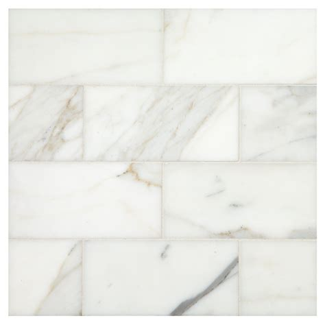 calacatta gold honed 3 quot x 6 quot marble subway