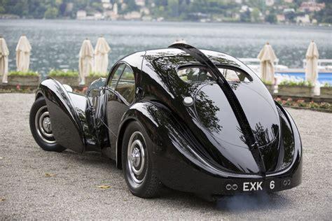 Bugatti's original la voiture noire exited the company's molsheim factory in 1937. 1936 Bugatti Type 57SC Atlantic | | SuperCars.net