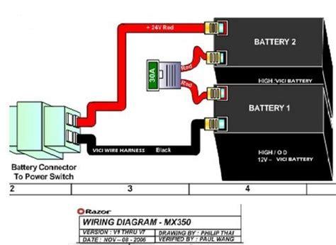 Razor Volt Electric Scooter Batteries High