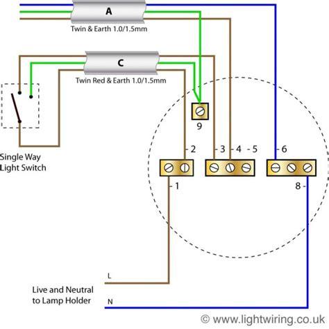 radial circuit light wiring diagram light wiring