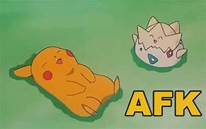 Afk GIF Afk Pokemon Discover Share GIFs