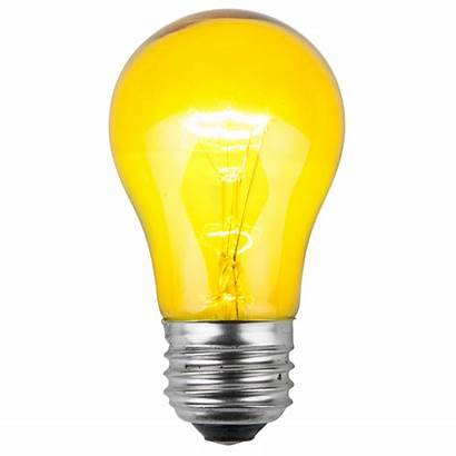 Yellow Transparent Bulbs Replacement A15 Sign Bulb
