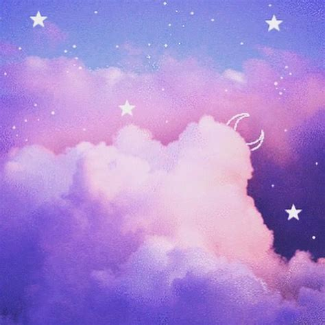 Aesthetic Background Wallpaper by Cloud Pastel Aesthetic Crystals Cosmos Magic In 2019