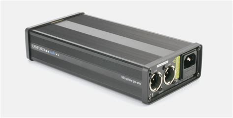 Canford Mains Microphone Preamplifier Channel