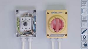 How To Wire A 2 Pole Rotary Isolator Switch Wiring Diagram