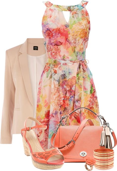 great polyvore combos  spring dresses