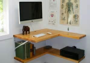 framing floating 2 cheap diy corner desks with shelves
