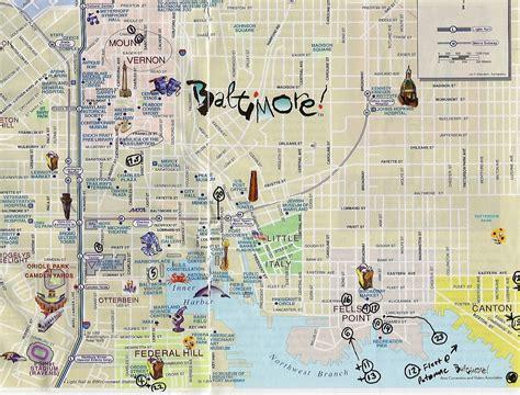 maps  map baltimore