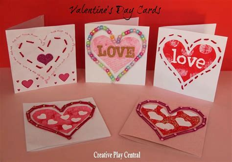 25+ Valentines Cards For Kids  Red Ted Art's Blog