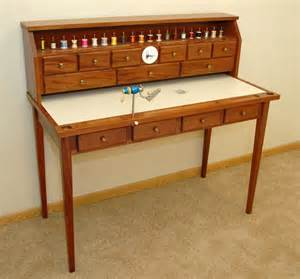 fly tying desk designs woodguides