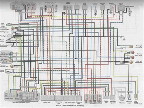 tr1 xv1000 xv920 wiring diagrams manfred s page all about
